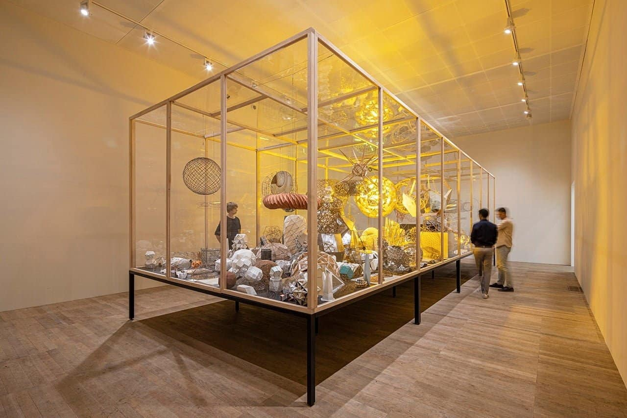 Olafur Eliasson in collaboration with Einar Thorsteinn; Model room, 2003. Anders Sune Berg. Moderna Museet, Stockholm. Purchase 2015 funded by The Anna-Stina Malmborg and Gunnar Höglund Foundation. © 2003 Olafur Eliasson.