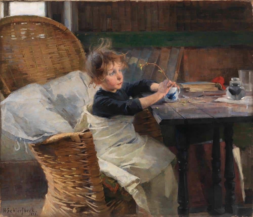 Helene Schjerfbeck, the Convalescent, 1888