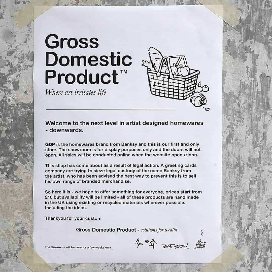 Banksy - Gross Domestic Product