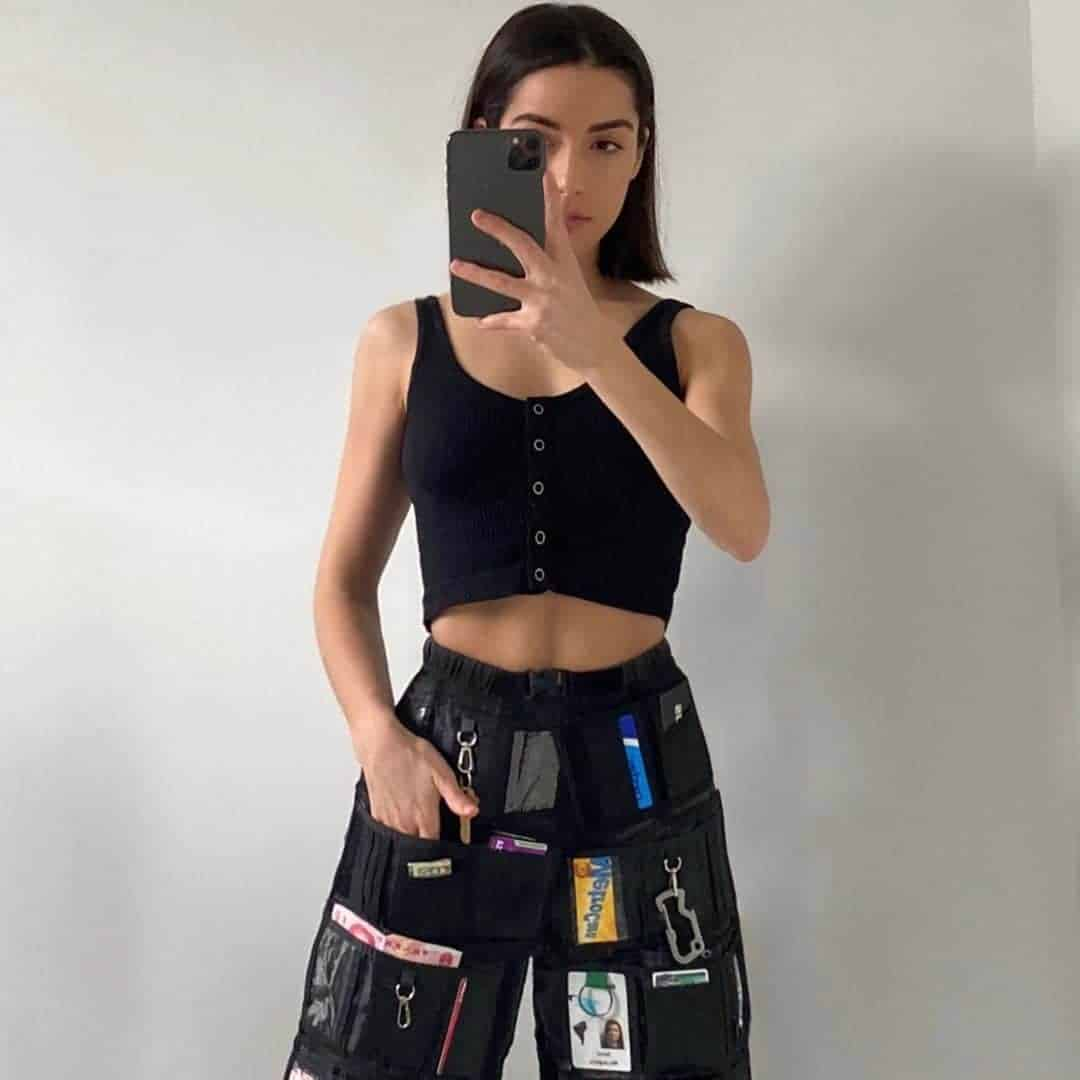 gerecyclede outfit