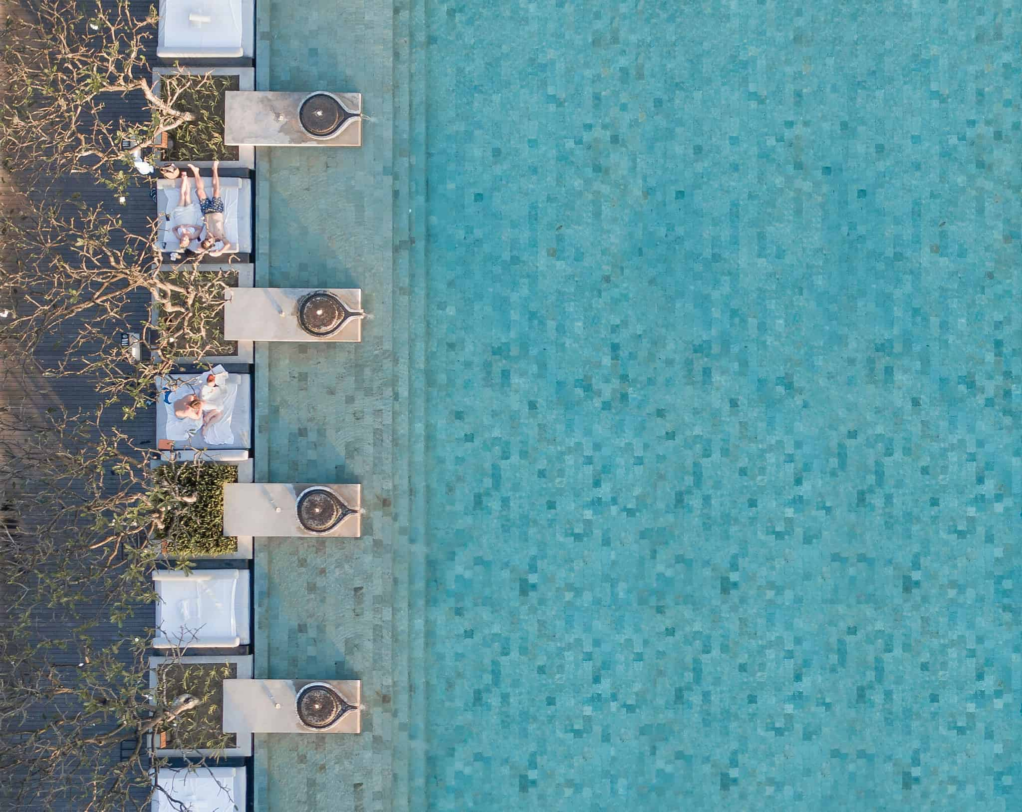 Bradscanvas - Pools From Above