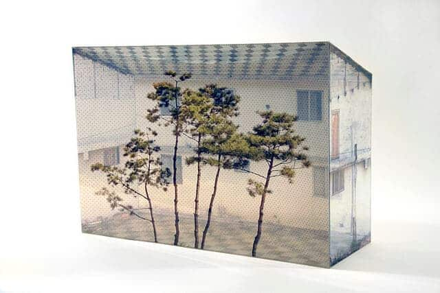 collage in 3D