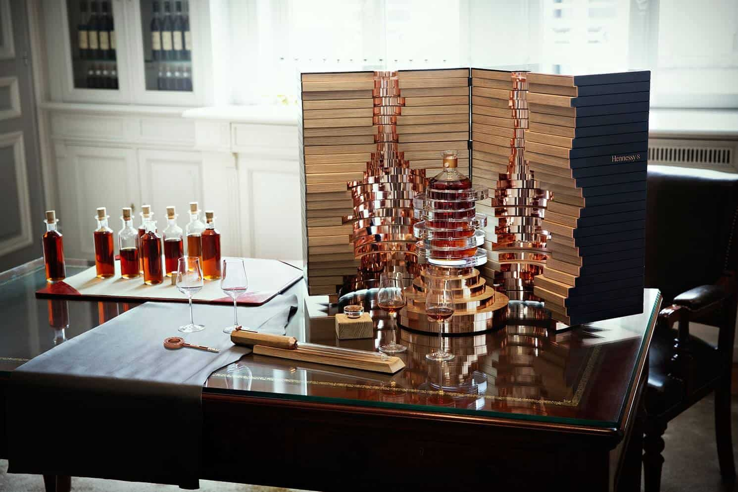 luxe fles hennessy cognac
