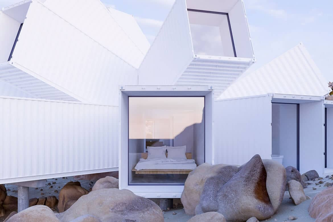 luxe containerwoning