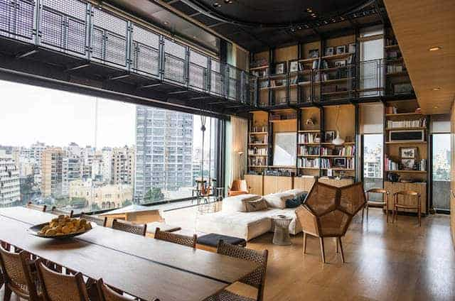 penthouse in Beiroet