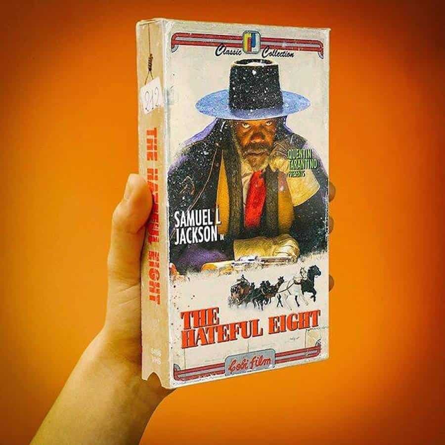 The Hateful Eight op VHS